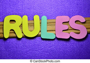 règles