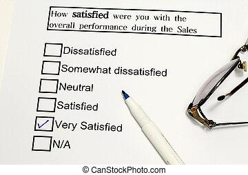 réaction, service clientèle