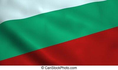 réaliste, drapeau, bulgarie