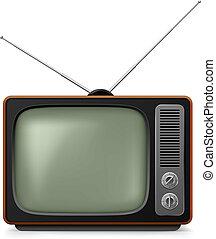 réaliste, tv., vendange