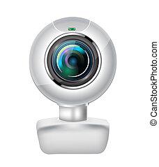 réaliste, webcam
