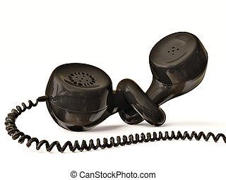 récepteur téléphone