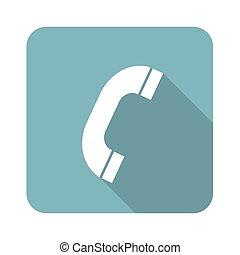 récepteur téléphone, icône