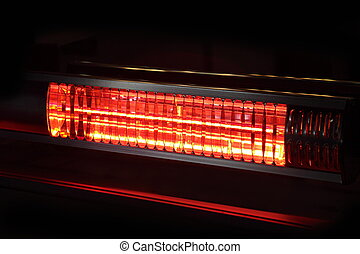 réchauffeur, infrarouge