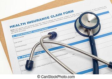 réclamation, assurance maladie, formulaire