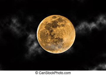 récolte, lune