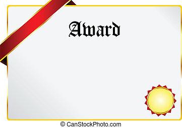 récompense