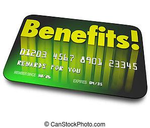 récompenses, mot, acheteur, loyauté, crédit, programme, ...