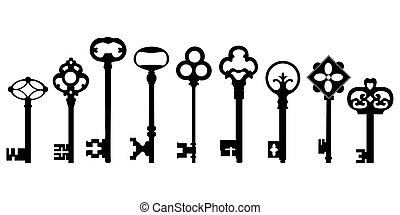 régimódi kulcs