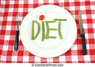 régime, légumes