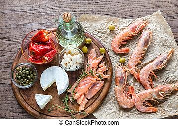 régime méditerranéen, ingrédients