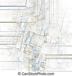 réminiscent, ville, résumé, blocs, art