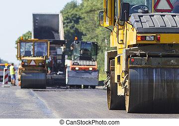 réparation, construction, autoroute