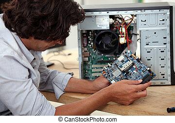 réparation, informatique