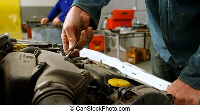 réparation, mécanicien voiture, 4k, garage