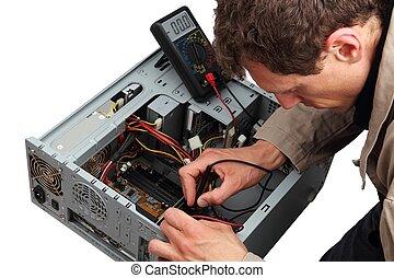 réparation, professinal, pc