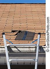 réparation, toiture
