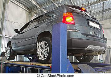 réparation voiture, garage