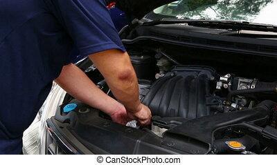réparation, voiture
