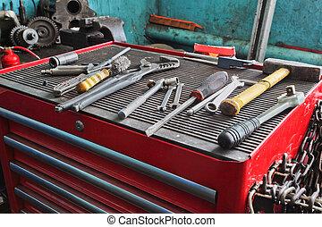 réparer garage