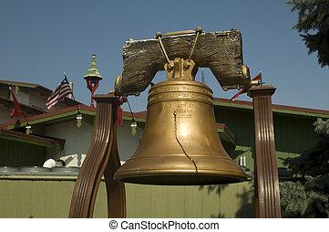 réplica, campana libertad