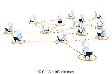 réseau, business
