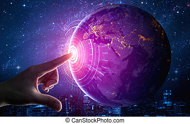 réseau, communication, 5g, technologie internet