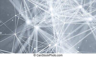 réseau global, boucle, business, connection., composition, concept, bg., ligne