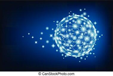 réseau global, connexion
