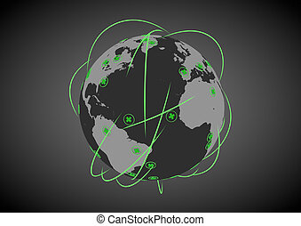 réseau, healthcare