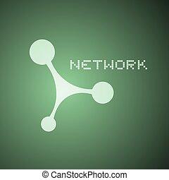 réseau, icône