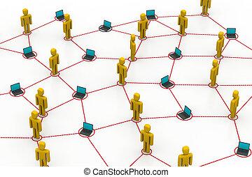 réseau, informatique