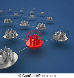 réseau, reussite