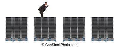 réseau, serveurs, business
