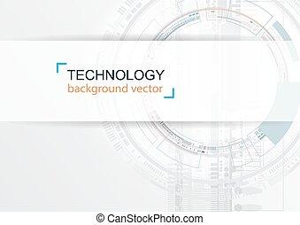 réseau, technologie, résumé, arrière-plan., numérique, hightech, concept.