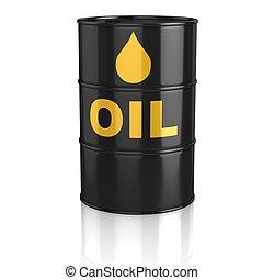 réservoir pétrole, 3d, icône