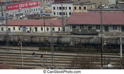 réservoir, rail, long, voyager, train