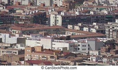 résidentiel, bâtiments, appartement, voisinage