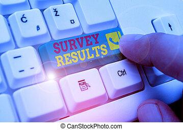 résultat, texte, mot, activité, acquires, data., concept, collects, statistique, écriture, enquête, ou, business, results.