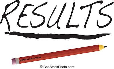 résultats, business