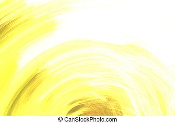 résumé, éléments, fond, jaune, blanc