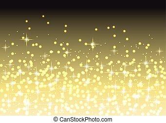 résumé, étoile, fond