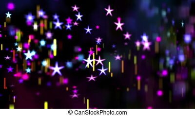 résumé, étoiles, fond