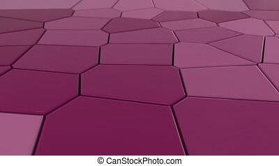 résumé, 4k, mosaïque, tiles.