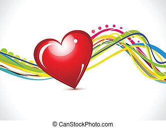 résumé, amour, fond