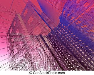 résumé, architecture moderne