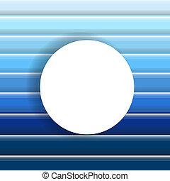 résumé, arrière-plan bleu, à, bulle discours