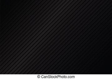 résumé, arrière-plan noir, métallique