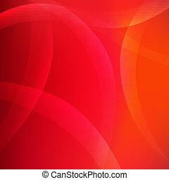 résumé, arrière-plan rouge