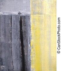 résumé,  art, gris, jaune